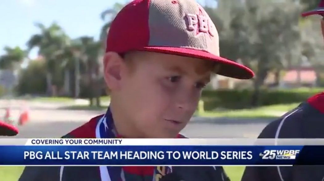 Nine-year-old baseball players from Palm Beach Gardens head to Cal Ripken World Series