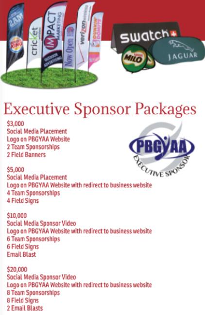 PBGYAA Executive Sponsorships